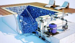 Проектирование и строительство бассейна