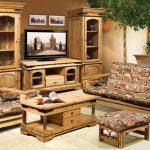 Натуральная мебель из массива
