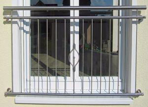ограждения из нержавеющей стали для балконов