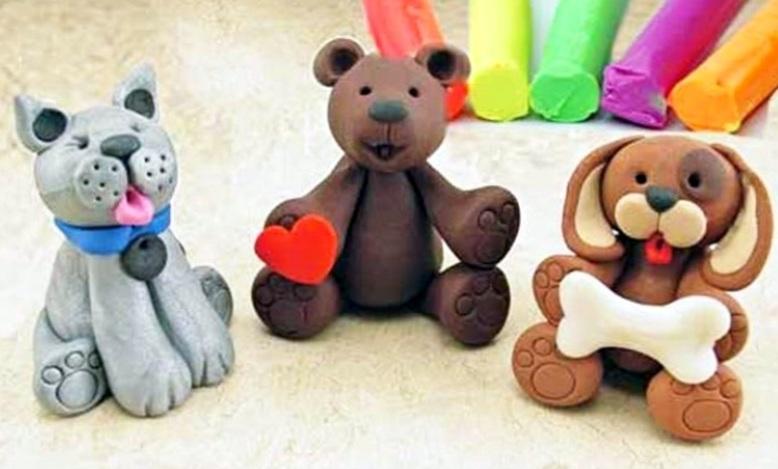 полимерная глина для детей